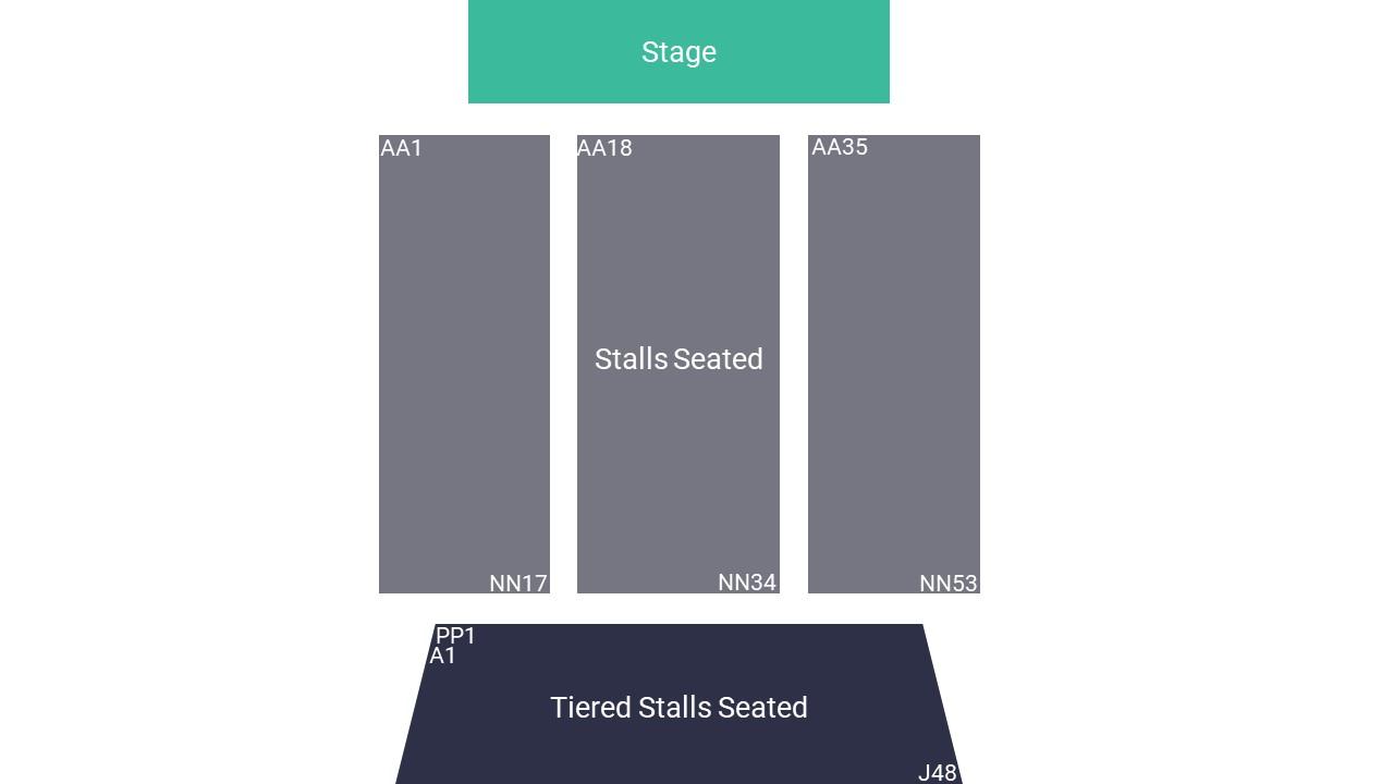 Charter Hall Seating Map