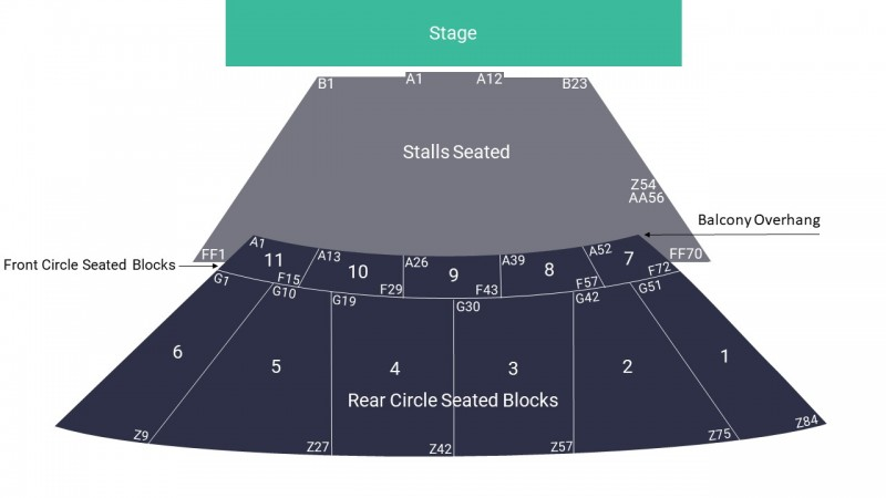 Dave Chappelle Comedy Tickets Seated Stalls Eventim Apollo 13 Oct 2021 GTX28249