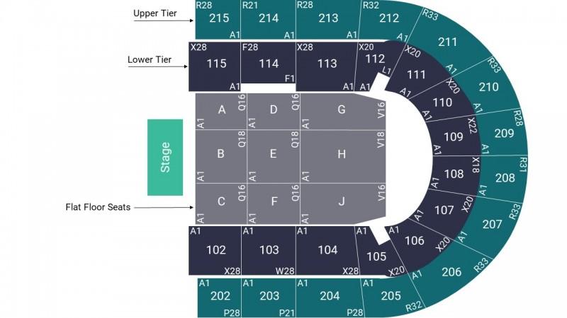 Joe Lycett Comedy Tickets Seated Floor Block B Manchester Arena 20 Sep 2022 GTX28040