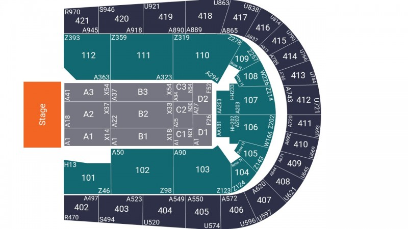 Mo Gilligan Comedy Tickets Seated Floor Block A2 O2 Arena 08 Dec 2021 GTX27271