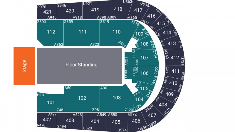 UB40 Featuring Ali and Astro Concert Tickets Seated Lower Tier Block 112 O2 Arena 25 Feb 2022 GTX20905