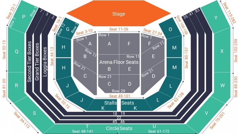 Deacon Blue Concert Tickets Seated Arena Floor Block E Royal Albert Hall 02 Dec 2021 GTX22958