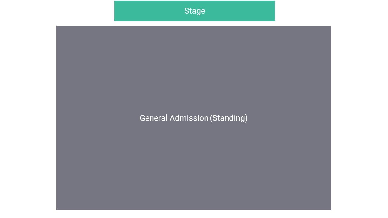 Alexandra Palace Park Seating Map