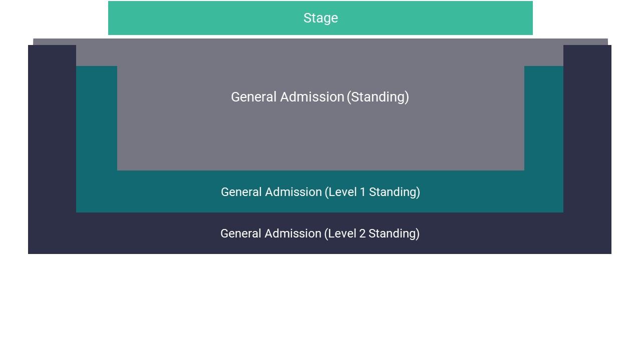 O2 Academy Bristol Seating Map