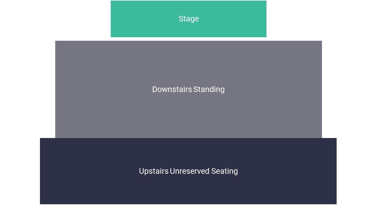 O2 Forum Kentish Town Seating Map