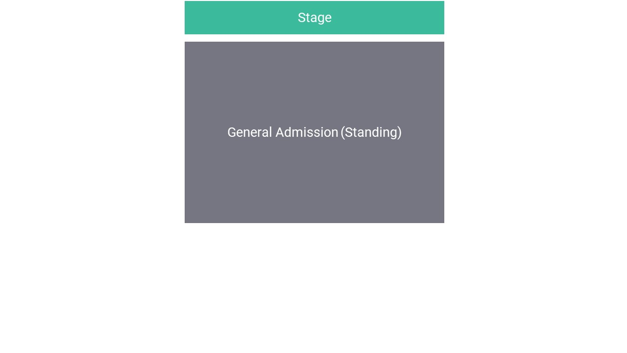 O2 Academy Oxford Seating Map