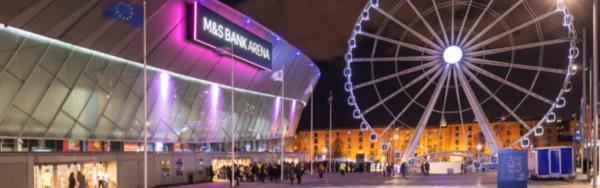 M&S Bank Arena Liverpool