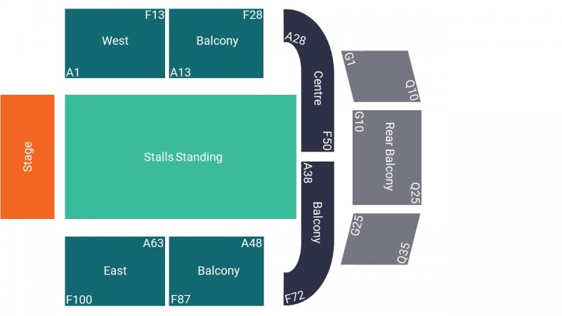 Wolf Alice Concert Tickets Standing Stalls O2 City Hall Newcastle 09 Jan 2022 GTX25820