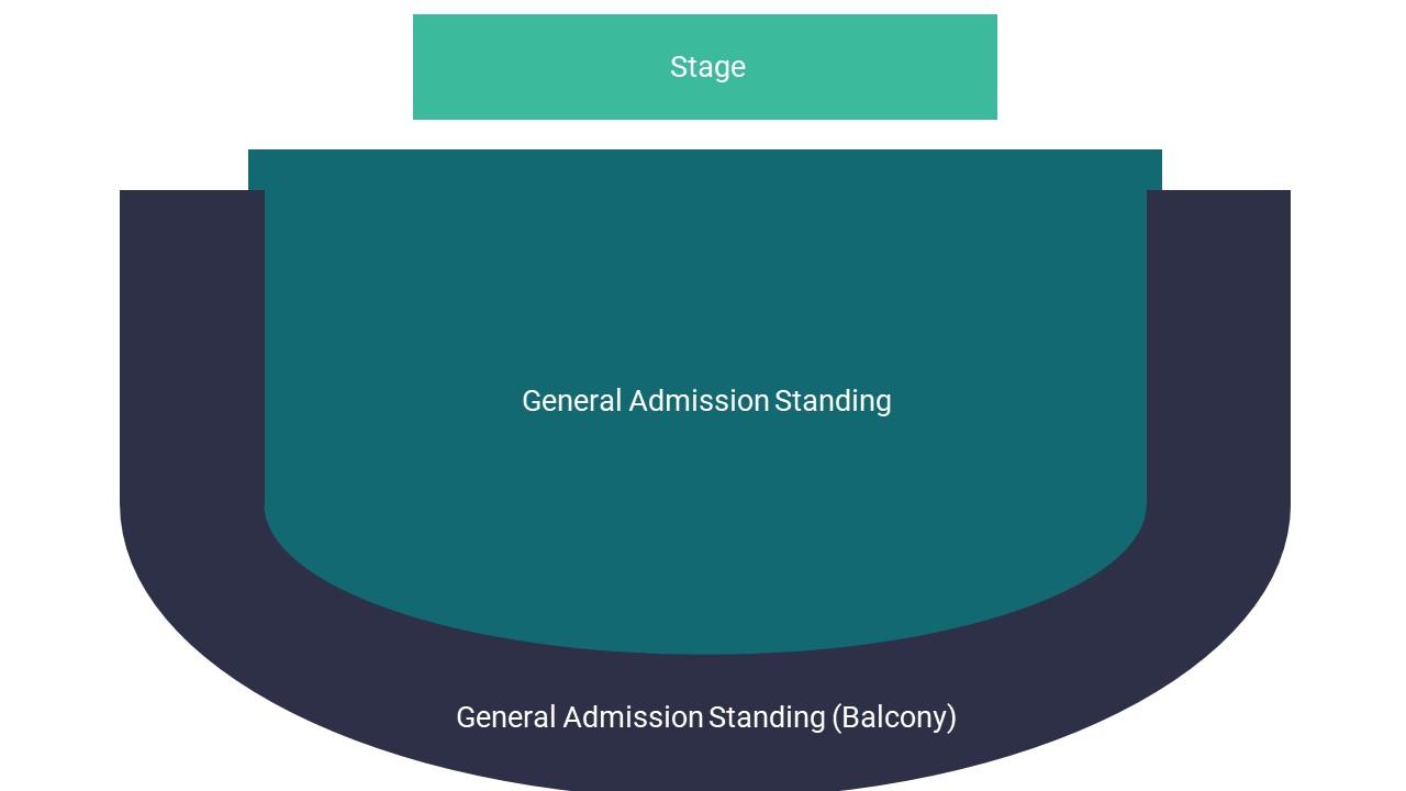 O2 Academy Sheffield Seating Map