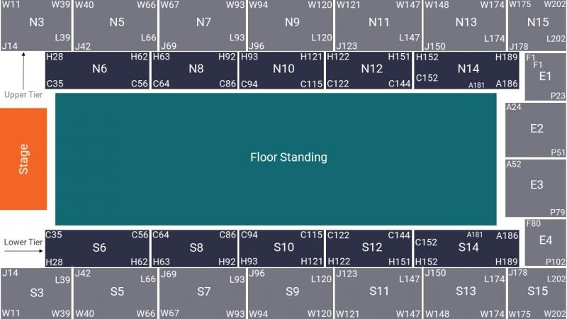 Nightwish Concert Tickets Standing Floor Wembley Arena 13 Dec 2021 GTX20260
