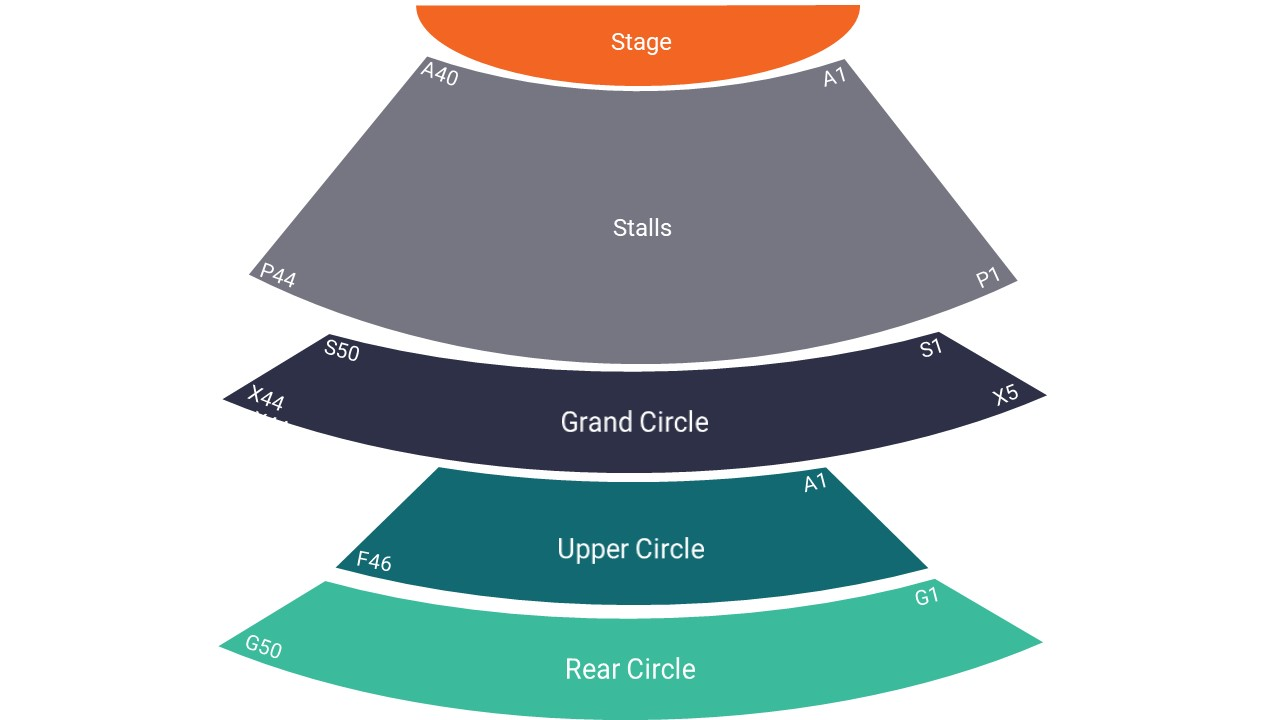 Liverpool Philharmonic Hall Seating Map