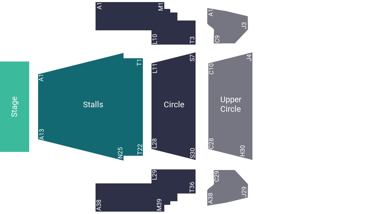 Millennium Forum Seating Map