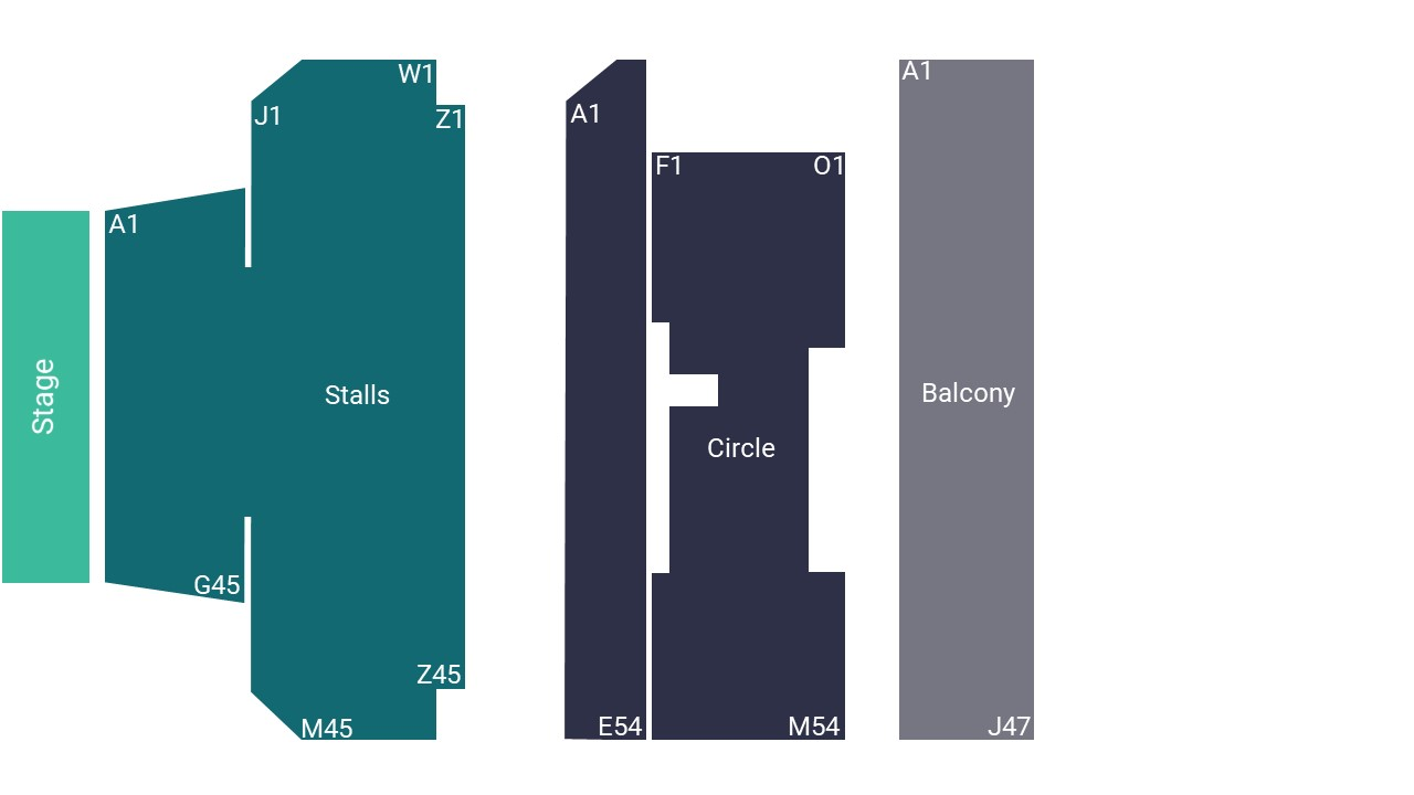 New Theatre Oxford Seating Map