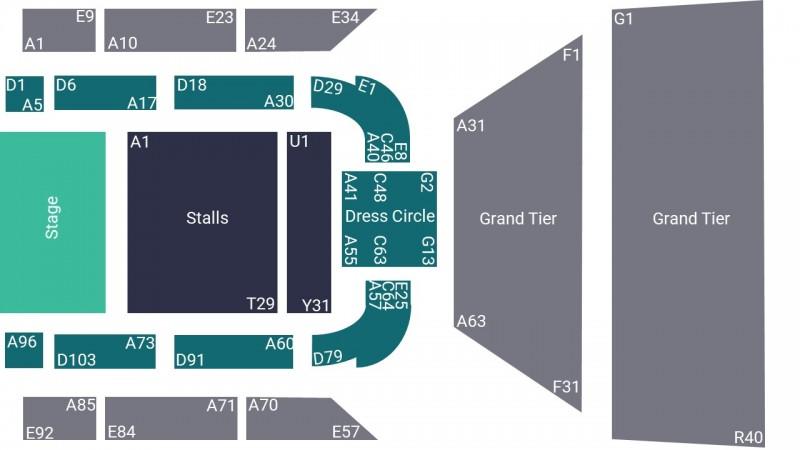 Jon Richardson Comedy Tickets Seated Grand Tier St Georges Hall Bradford 13 Nov 2022 GTX23033