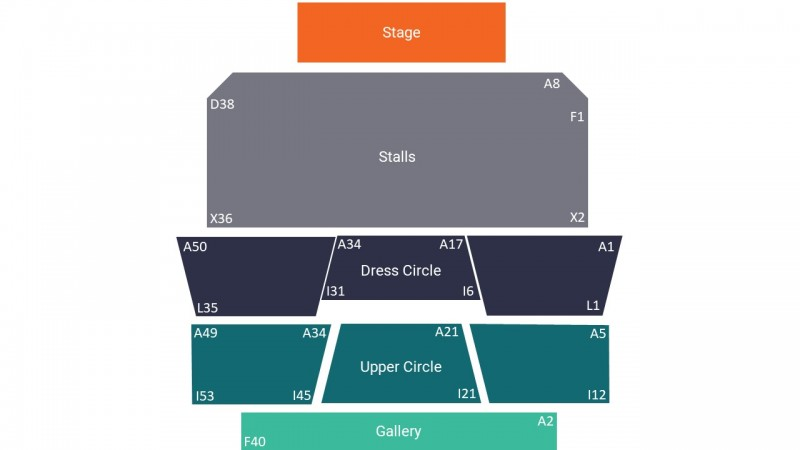 Alan Carr Comedy Tickets Seated Upper Circle Sunderland Empire 22 Oct 2021 GTX23044