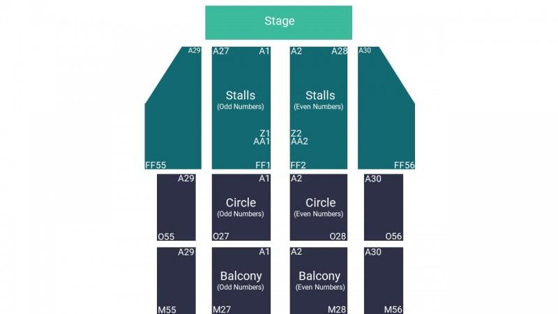 RuPauls Drag Race UK Theatre Tickets Seated Front Stalls Blackpool Opera House 15 Feb 2022 GTX25853