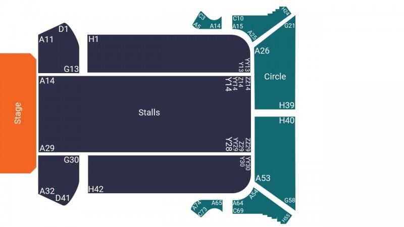 RuPauls Drag Race UK Theatre Tickets Seated Stalls Bournemouth Pavilion Theatre 10 Feb 2022 GTX25850