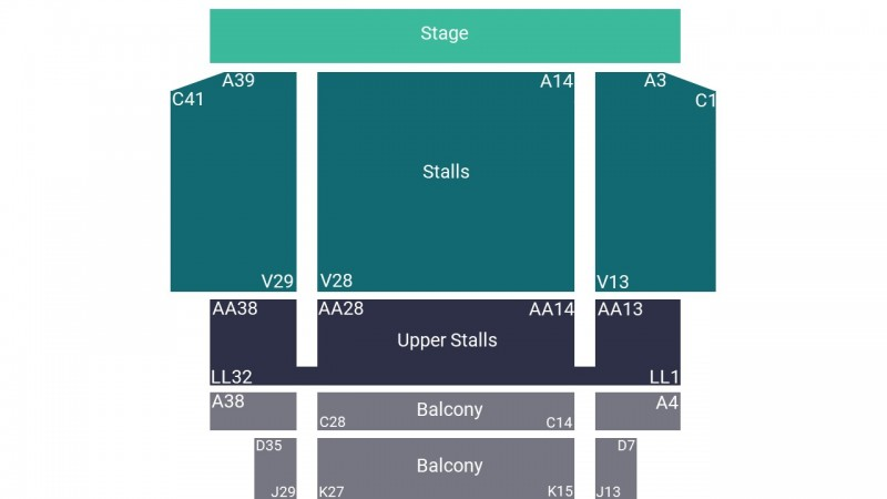Jon Richardson Comedy Tickets Seated Front Stalls Fairfield Halls 26 Mar 2023 GTX22039