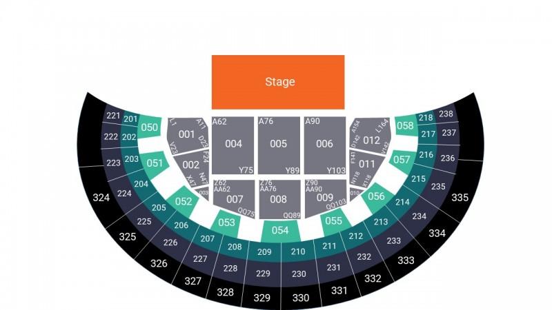 Alanis Morissette Concert Tickets Seated Block 001 SSE Hydro Glasgow Arena 18 Nov 2021 GTX27544
