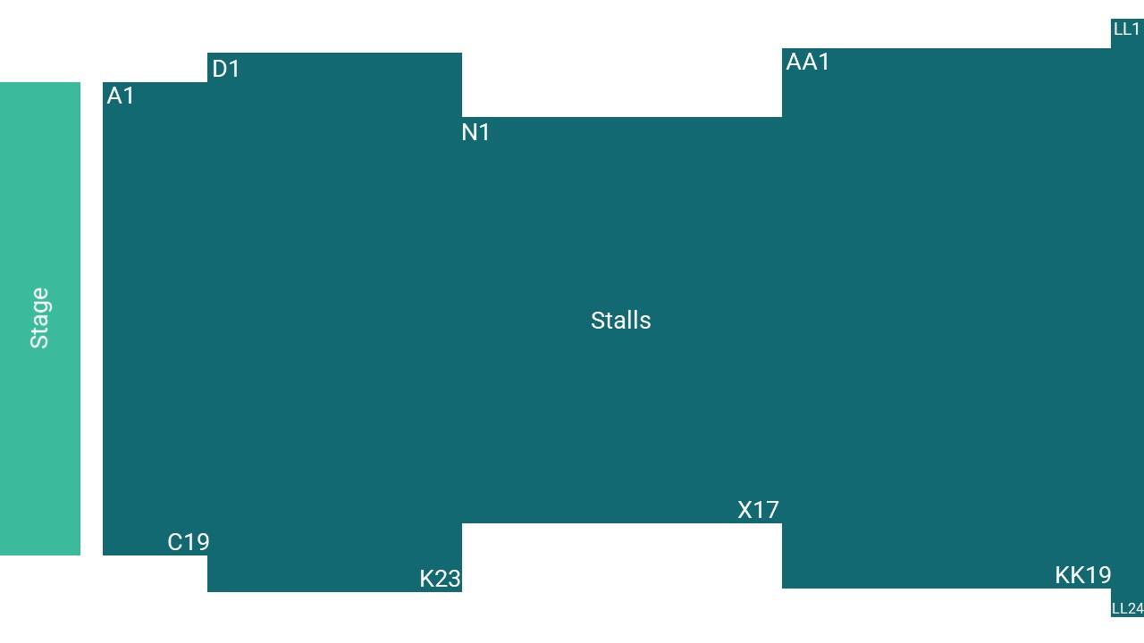 Corn Exchange King's Lynn Seating Map