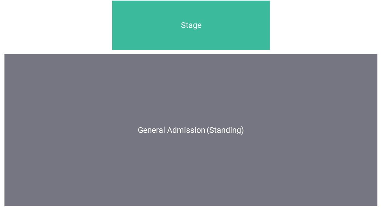 Lytham Festival Seating Map