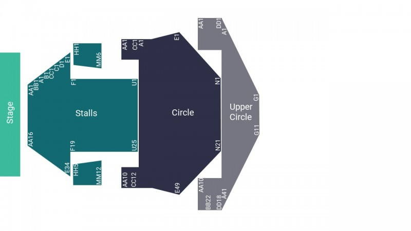 Alan Carr Comedy Tickets Seated Upper Circle Milton Keynes Theatre 20 Jan 2022 GTX22706