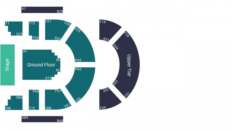 Laura Marling Concert Tickets Standing Ground Floor The Queen's Hall Edinburgh 08 Oct 2021 GTX25922