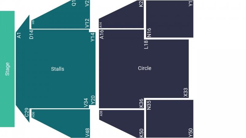 Joe Lycett Comedy Tickets Seated Stalls Birmingham Hippodrome 04 Jun 2022 GTX28084