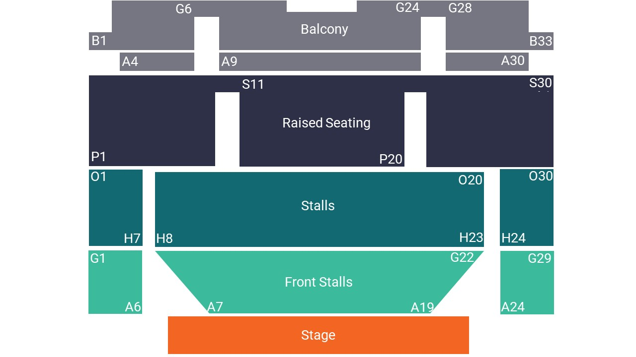 Corn Exchange Ipswich Seating Map