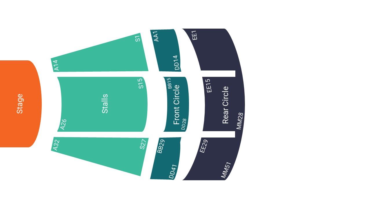 Weymouth Pavilion Seating Map