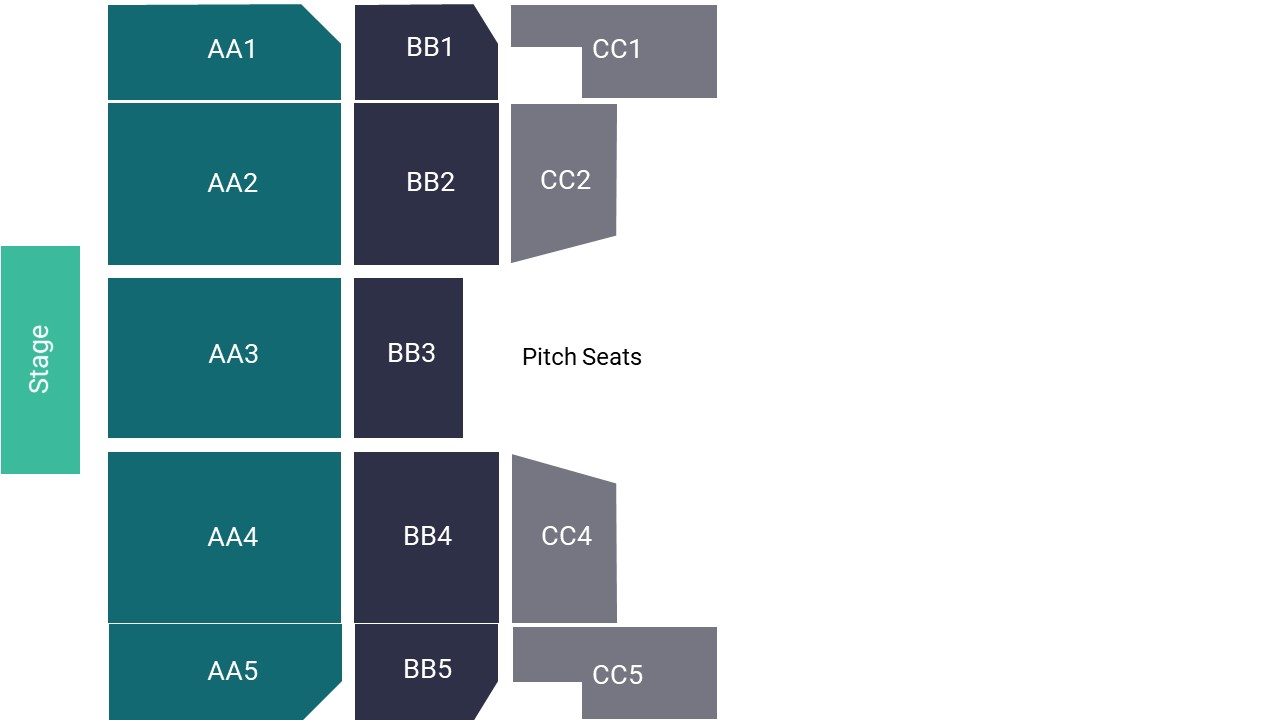 Anfield – Pitch Seating Map