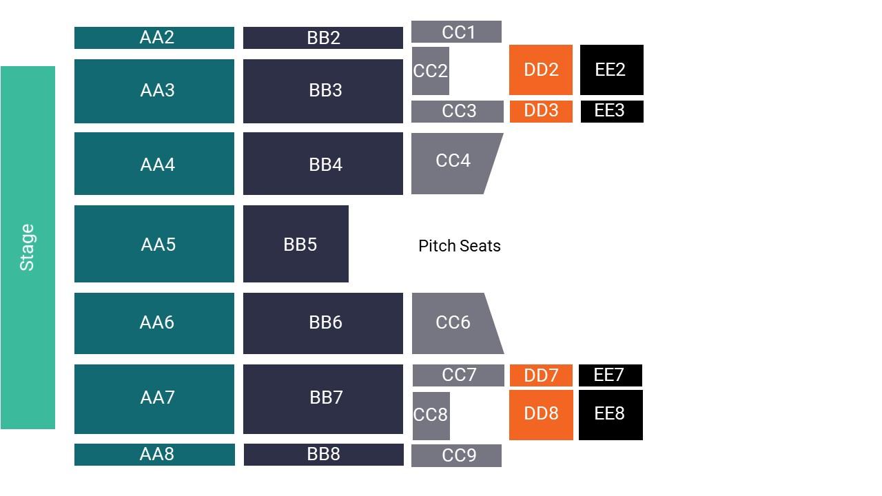 Liberty Stadium – Pitch Seating Map