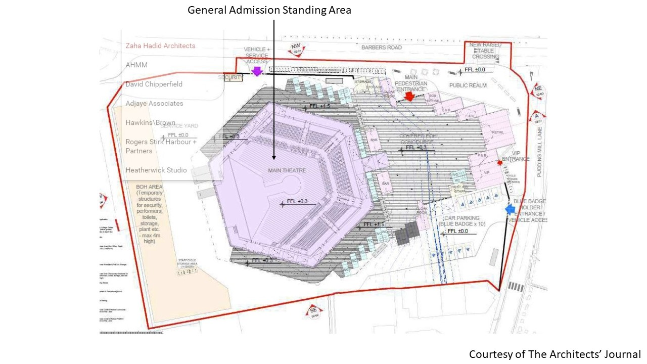 ABBA Arena Seating Map
